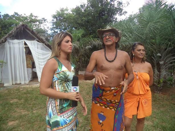 Reportagem da TV Record em Massarandupió, Ecoparque e Ecovila da Mata 2015