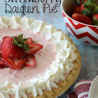 Strawberry Daiquiri Pie.