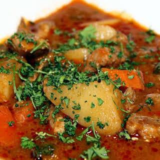 Jo's Lamb Stew.