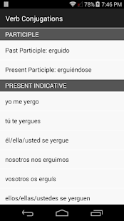 English Spanish Dictionary Una- screenshot thumbnail