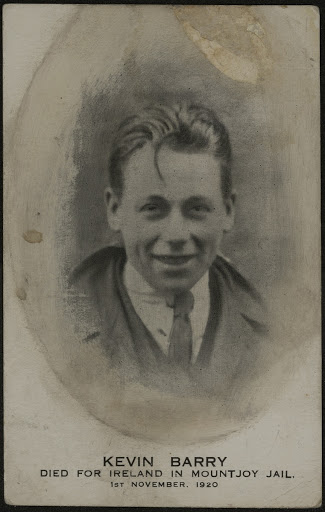 Commemorative photographic print of Kevin Barry