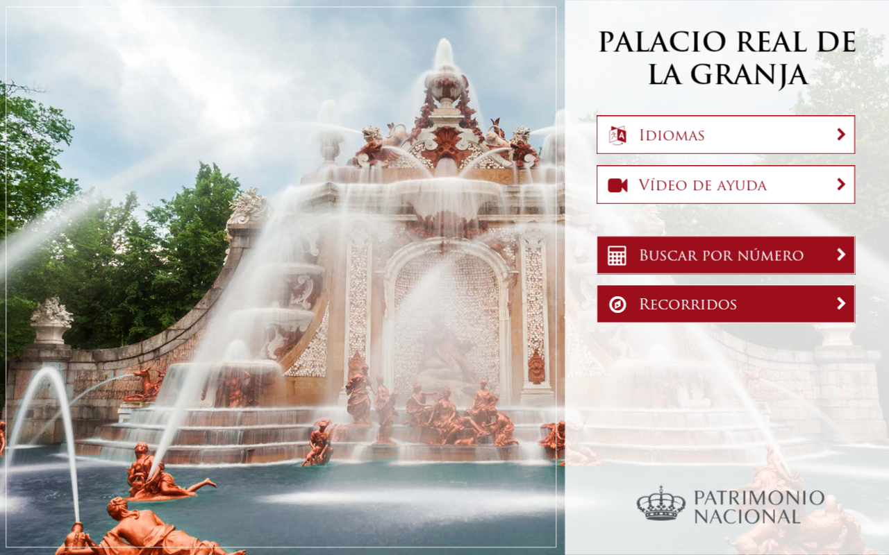 Royal Site of la Granja- screenshot