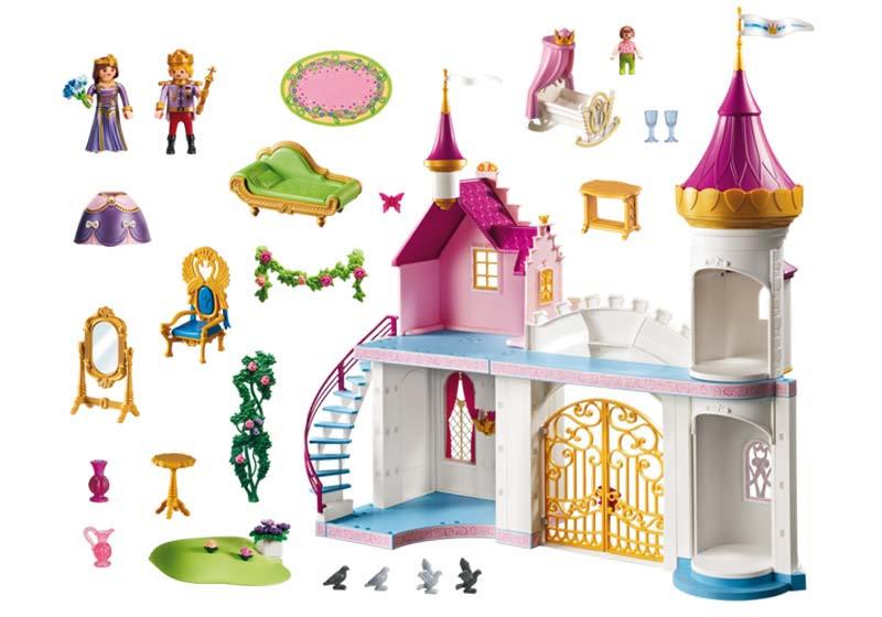 Contenido Real de Playmobil® Palacio de Princesas