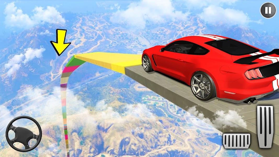Muscle Car Stunts 2020 Mega Ramp Racing Car Games