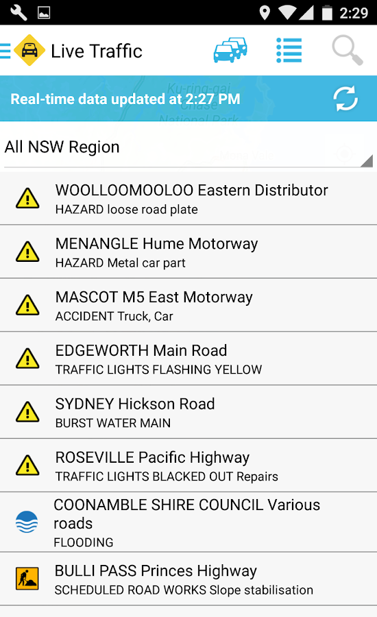Live Traffic NSW- screenshot