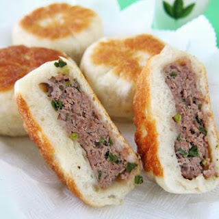 Pan Fried Beef Bun 牛肉馅饼