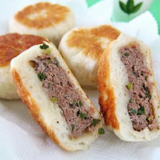 Pan Fried Beef Bun 牛肉馅饼