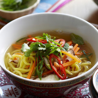 Vegetable and Noodle Soup.