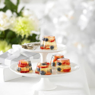 Berries and Champagne Molds Recipe