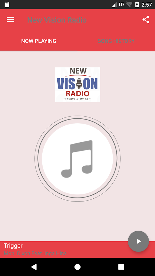 New Vision Radio- screenshot