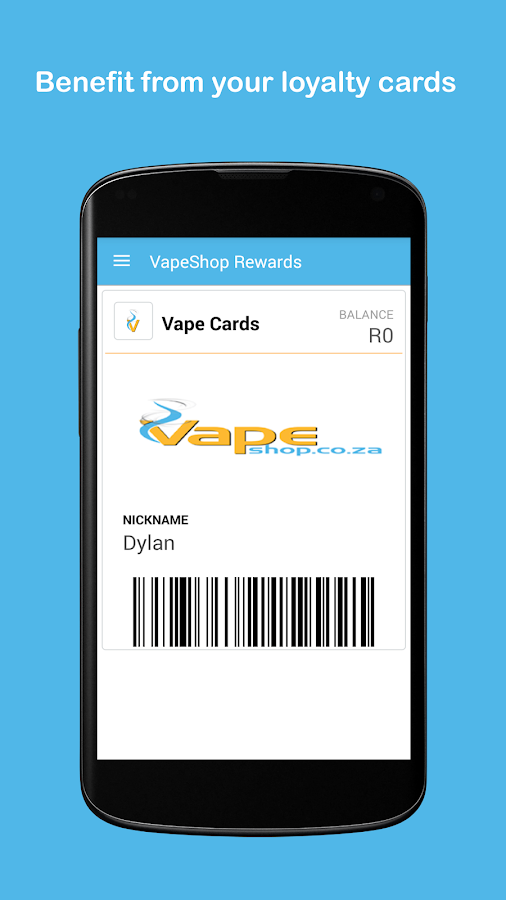 VapeShop Rewards- screenshot