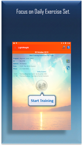 LightWeight Training Premium