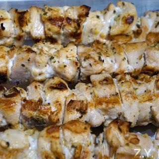 Delicious Grilled Chicken Souvlaki