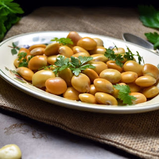 Italian Lupini Beans #SundaySupper.