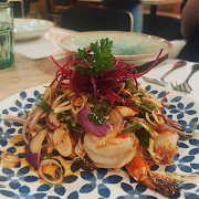Pla Goong Salad
