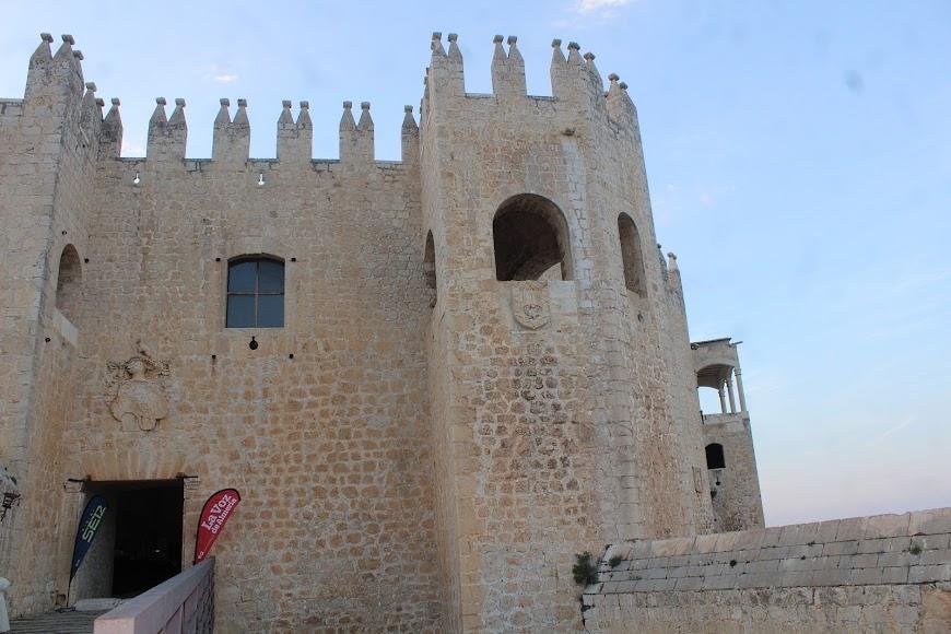 Turismo interior, Castillo de Vélez Blanco, ejemplo emblemático de la arquitectura del Renacimiento Español. Conjuga los aspectos militar y palaciego.