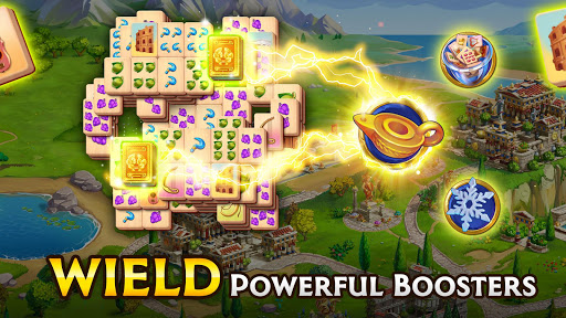 Emperor of Mahjong: Match tiles & restore a city filehippodl screenshot 18
