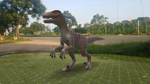 Code Triche Dinosaur 3D AR - Augmented Reality mod apk screenshots 3