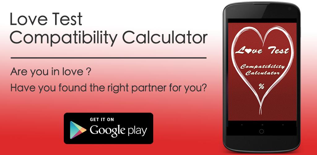 love test compatibility calculator