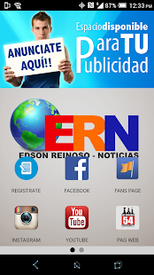 Edson Reinoso Noticias - ERN screenshot