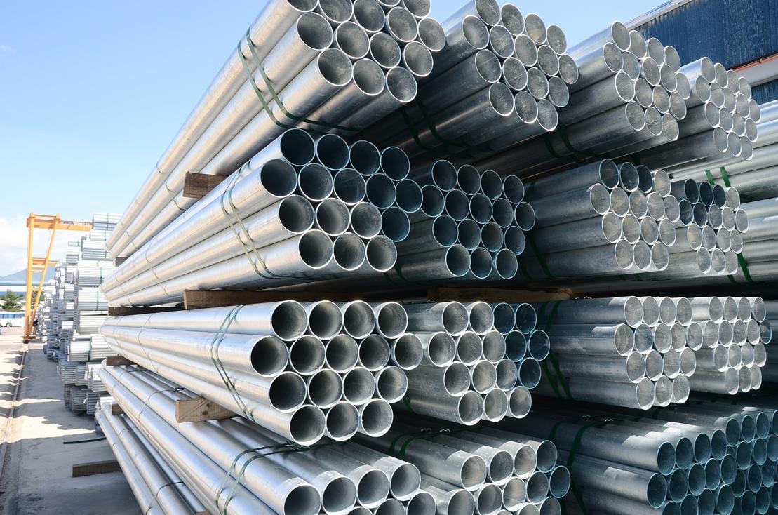 Thép ống tròn mạ kẽm với chất lượng và giá trị thẩm mỹ vượt trội