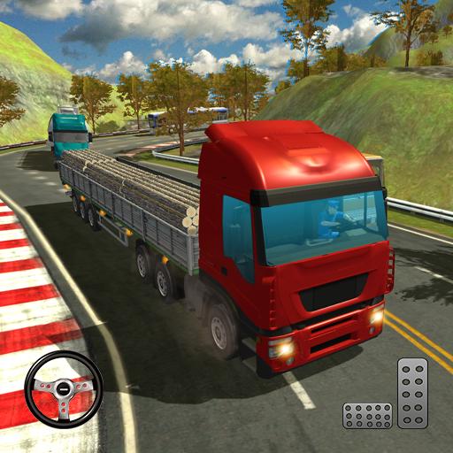 Truck UpHill Climb 3D - truck driving in mud