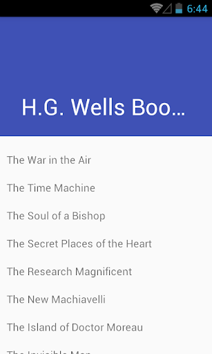 H.G. Wells Selected Works