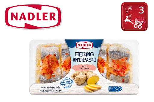 Bild für Cashback-Angebot: Nadler Hering Antipasti mit Ingwer - Nadler