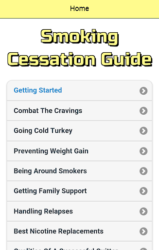Smoking Cessation Guide
