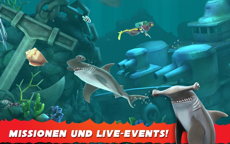 hungry shark evolution screenshot - Fantastisch Garageneinfahrt Am Hangil