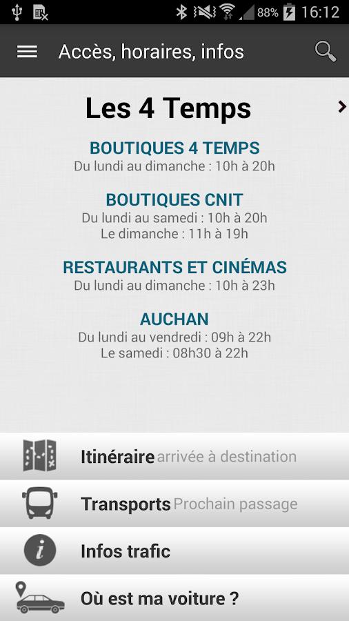 Les Quatre Temps - screenshot