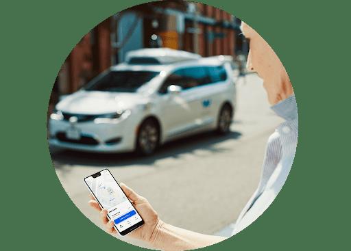 Waymo One app