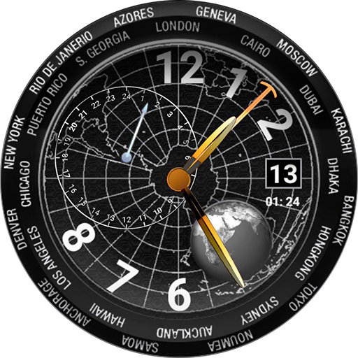 Time Machine watch face