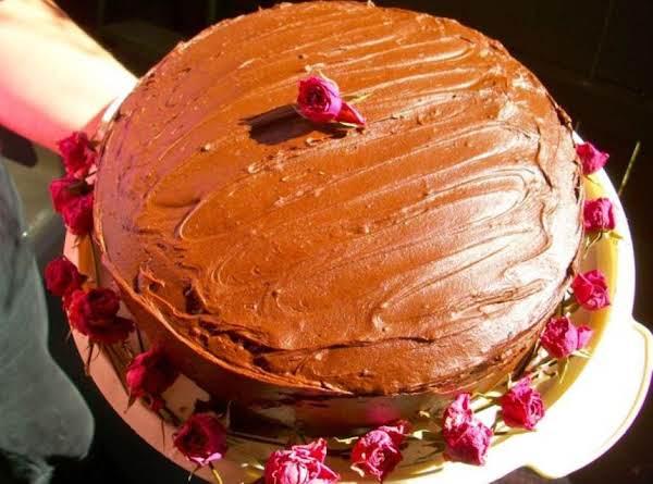 New Year's Chocolate Cake