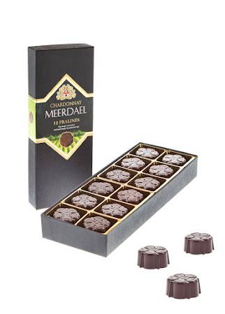 Pralines avec Chardonnay Meerdael