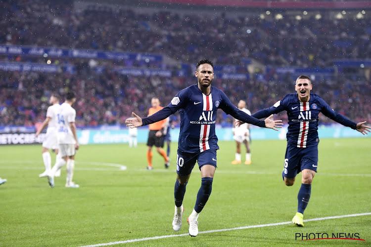 Neymar schenkt Meunier en PSG in slot drie punten tegen Denayer