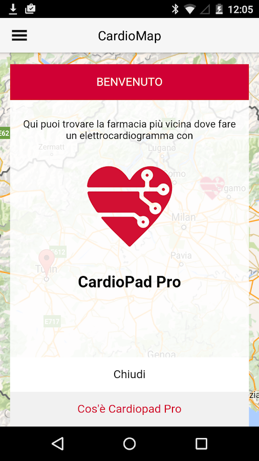 CardioApp- screenshot