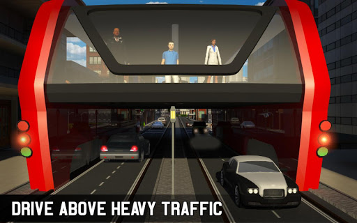 Elevated Bus Simulator: Futuristic City Bus Games 2.2 screenshots 9