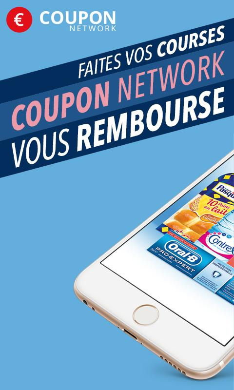 Coupon Network, 100% réduction- screenshot