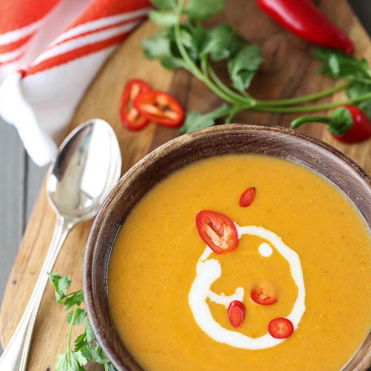 5 Ingredient Thai Pumpkin Soup Recipe