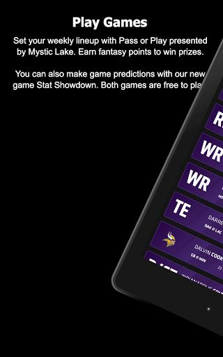 Minnesota Vikings Mobile screenshot 16