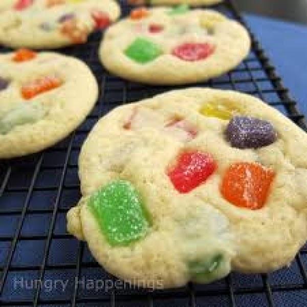 Gum Drop Cookie Slices Recipe
