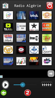 Radio Algeria - screenshot
