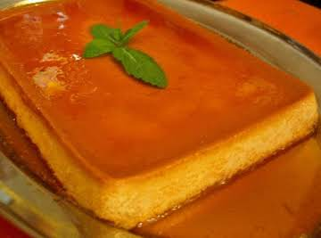 Flan-tastic FLAN (in a pan!)