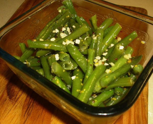 Green Beans With Almond-butter Sauce Recipe