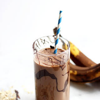 Peanut Butter Mocha Smoothie.