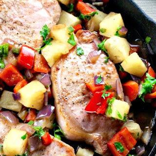 Sweet and Spicy Pineapple Pork.