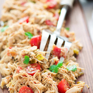 My Favorite Slow Cooker Shredded Mexican Chicken