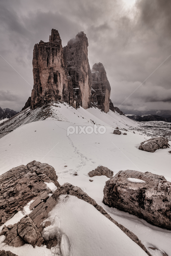 Summer Snow by Cristiano Trombelli - Landscapes Mountains & Hills (  )