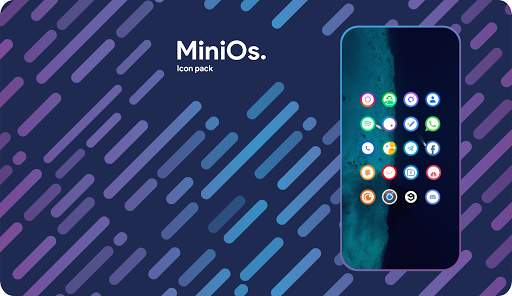 Screenshot for Mini0s. Icon Pack in United States Play Store